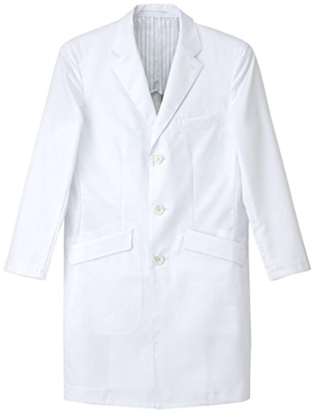ロイヤリティ見込み軍隊ナガイレーベン NAGAILEBEN  男子シングル診察衣 FD4000 Mサイズ ホワイト