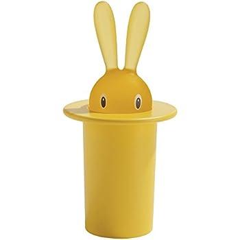 【正規輸入品】 ALESSI アレッシィ Magic Bunny マジックバニー 爪楊枝入れ / イエロー ASG16 Y