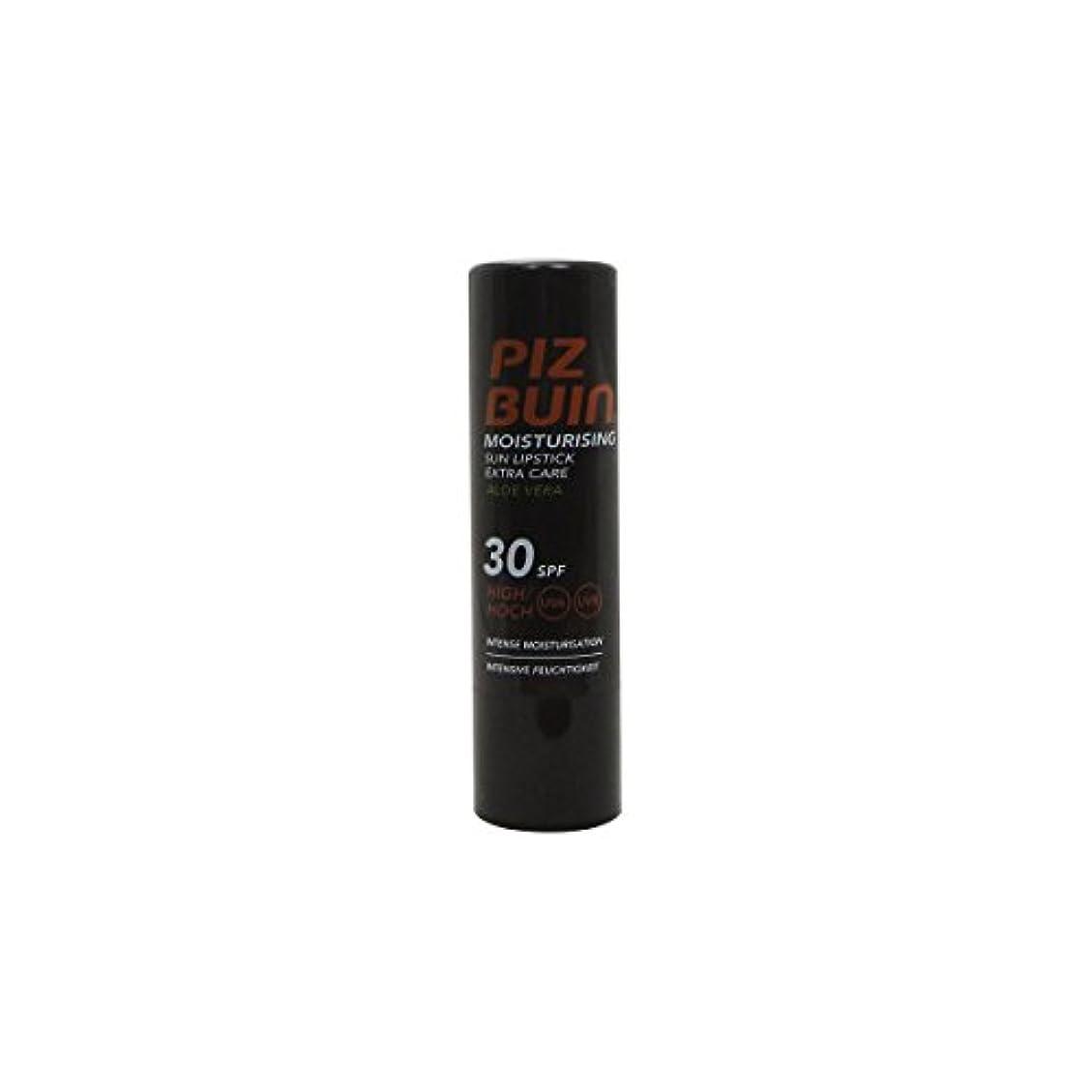 海里フィット降伏Piz Buin Lipstick Spf 30 Moisturising With Aloe Vera5g [並行輸入品]
