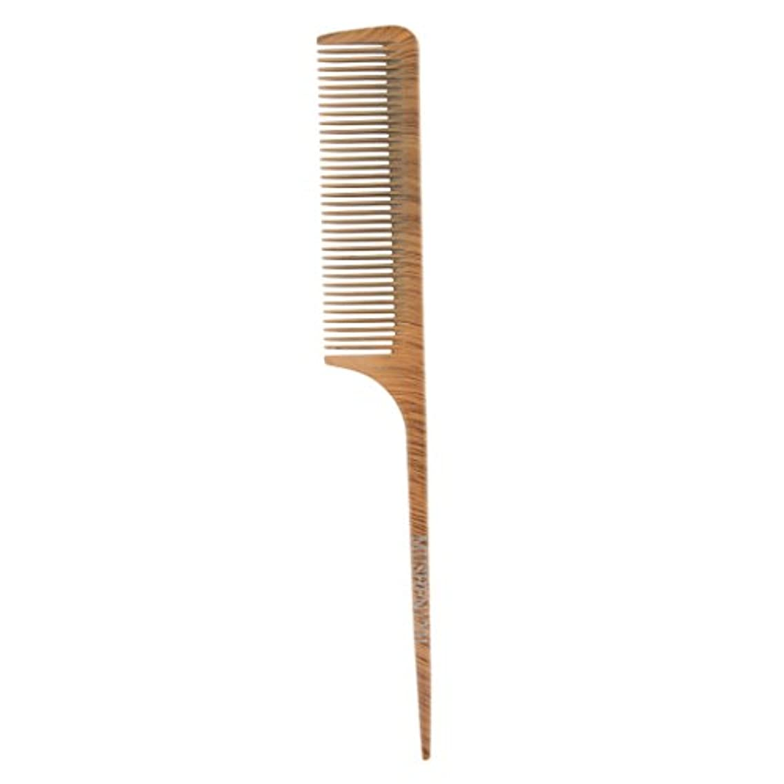 正確さまで民主主義ヘアコーム ヘアブラシ ヘアカットコーム ウッド 帯電防止 サロン 理髪師 ヘアケア 4タイプ選べる - 1201