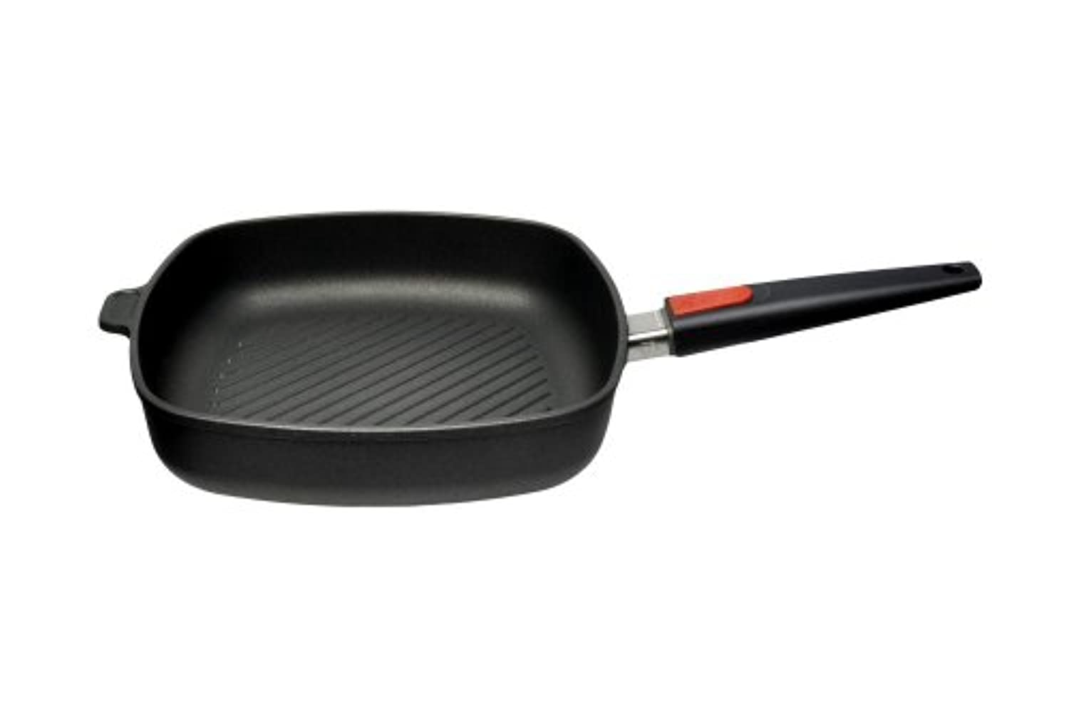 Woll Nowo Titanium 11 x 11 Grill Pan w/ Detachable Handle by Woll Cookware
