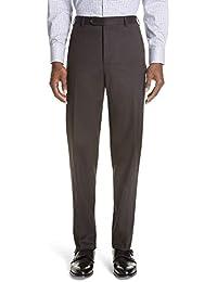 (カナーリ) CANALI メンズ ボトムス・パンツ スラックス Cavaltry Flat Front Solid Stretch Wool Trousers [並行輸入品]