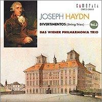 Haydn:Divertiment Vol.3 by Wien Pilharmonia String Trio (2004-05-20)