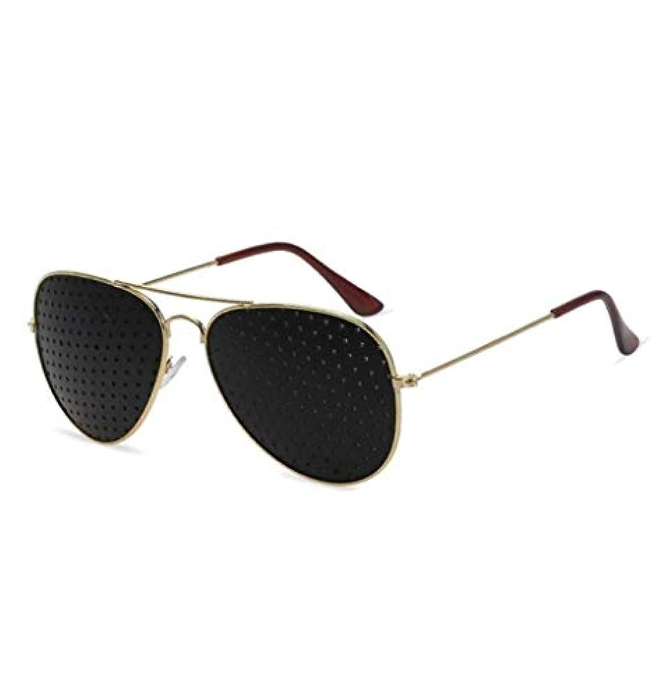 リード押す振り向くピンホールメガネ、アイズエクササイズアイサイトビジョンメガネの改善ビジョンケアメガネ近視の防止メガネの改善