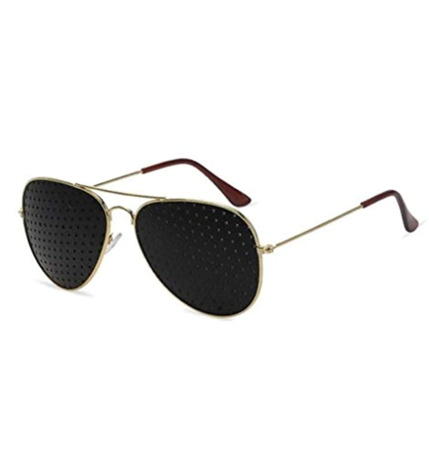 サイクロプスちらつき急いでピンホールメガネ、アイズエクササイズアイサイトビジョンメガネの改善ビジョンケアメガネ近視の防止メガネの改善