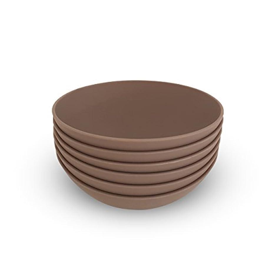 効果名誉ガスCOZA design- Cozy Large Bowl set- 17 oz Set of 6 グレー