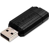 ver49064–Verbatim 32GBピンストライプUSBフラッシュドライブ–ブラック