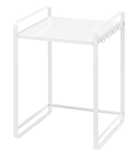 RoomClip商品情報 - 山崎実業 伸縮レンジラック タワー ホワイト 3130