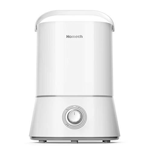 加湿器 超音波式 4L大容量 超静音技術 25dB以下 60時間連続加湿 小型 卓上 空焚き防止 持ち運び便利 オフィス 会社 家庭用 乾燥対策 シンプル ホワイト