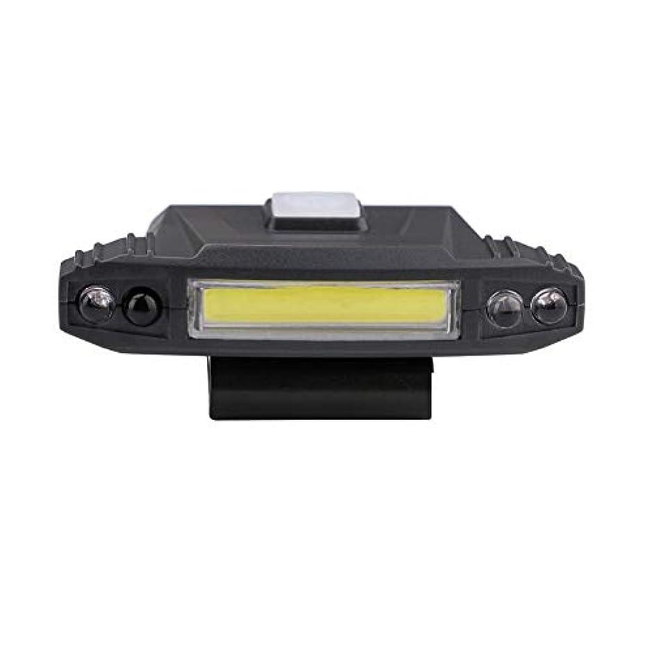 サイドボード人柄野菜Runcircle LEDクリップライト COB 帽子ライト セーフティライト クリップ式 安全警告灯 90°回転でき 手振りセンサー 四モード USB充電 帽子 服付け 多機能 自転車 スポーツ ランニング サイクリング ジョギング