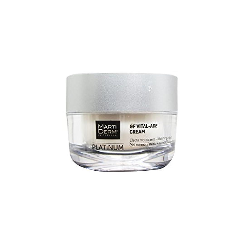火曜日アスレチック料理をするMartiderm Platinum Gf Vital-age Normal To Combination Skin Cream 50ml [並行輸入品]