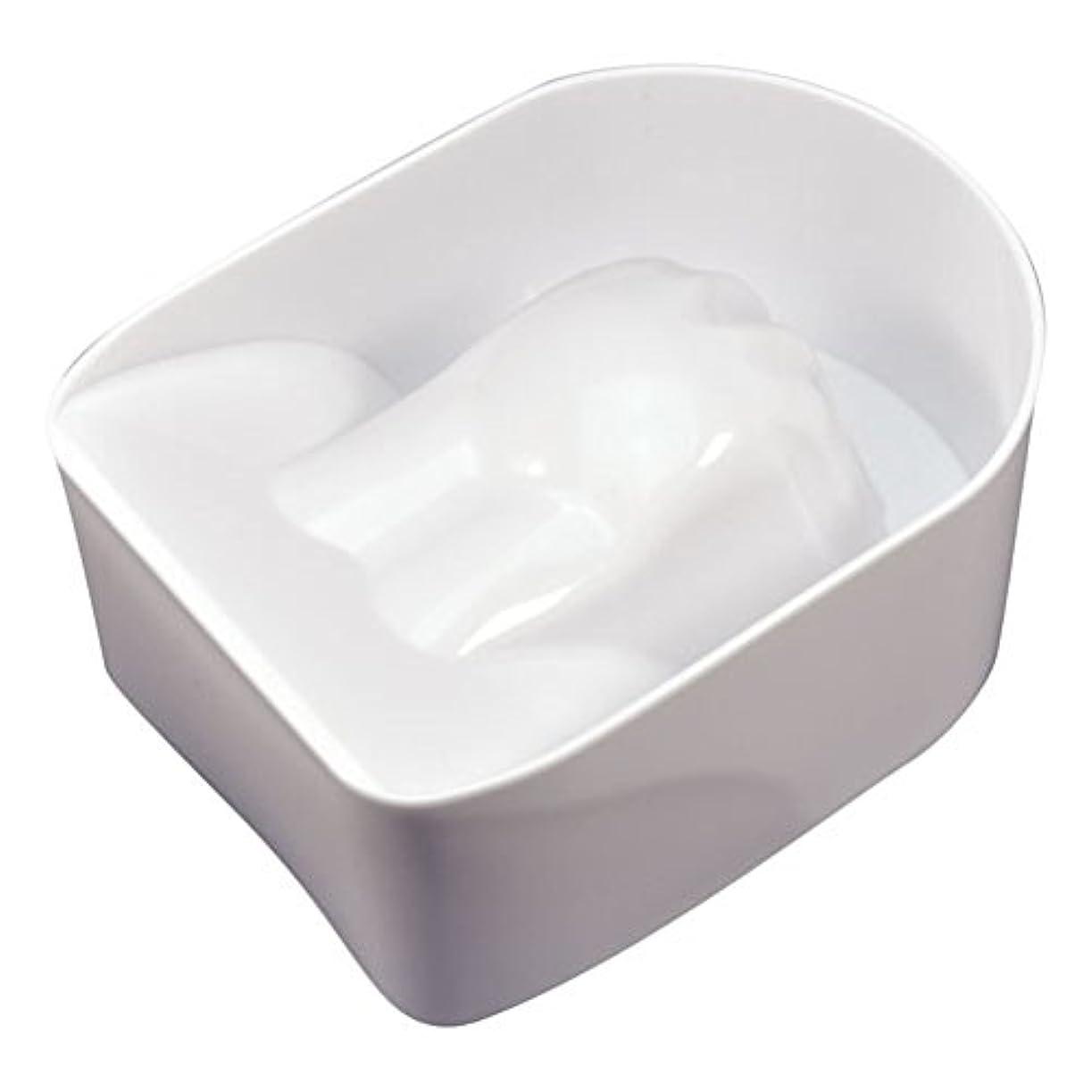 花瓶楕円形きれいにマニキュアボール ホワイト(アセトン可)