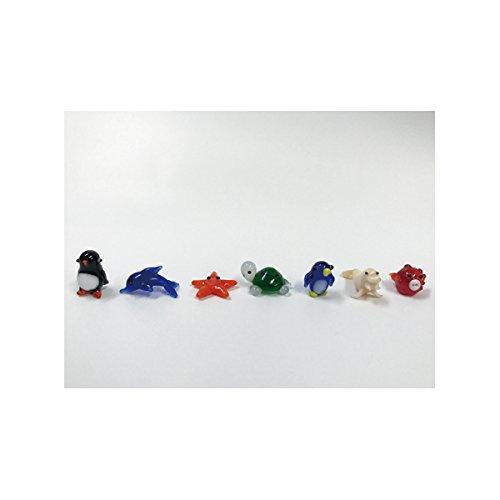 ガラス細工セット マリーンモチーフ 5種組
