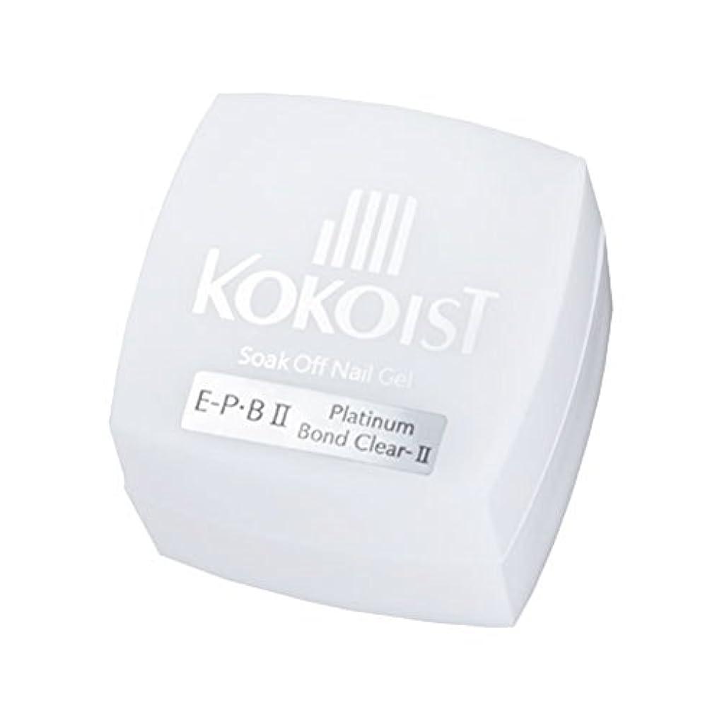 甥士気導体KOKOIST フ゜ラチナホ゛ント゛II 4g ジェル UV/LED対応