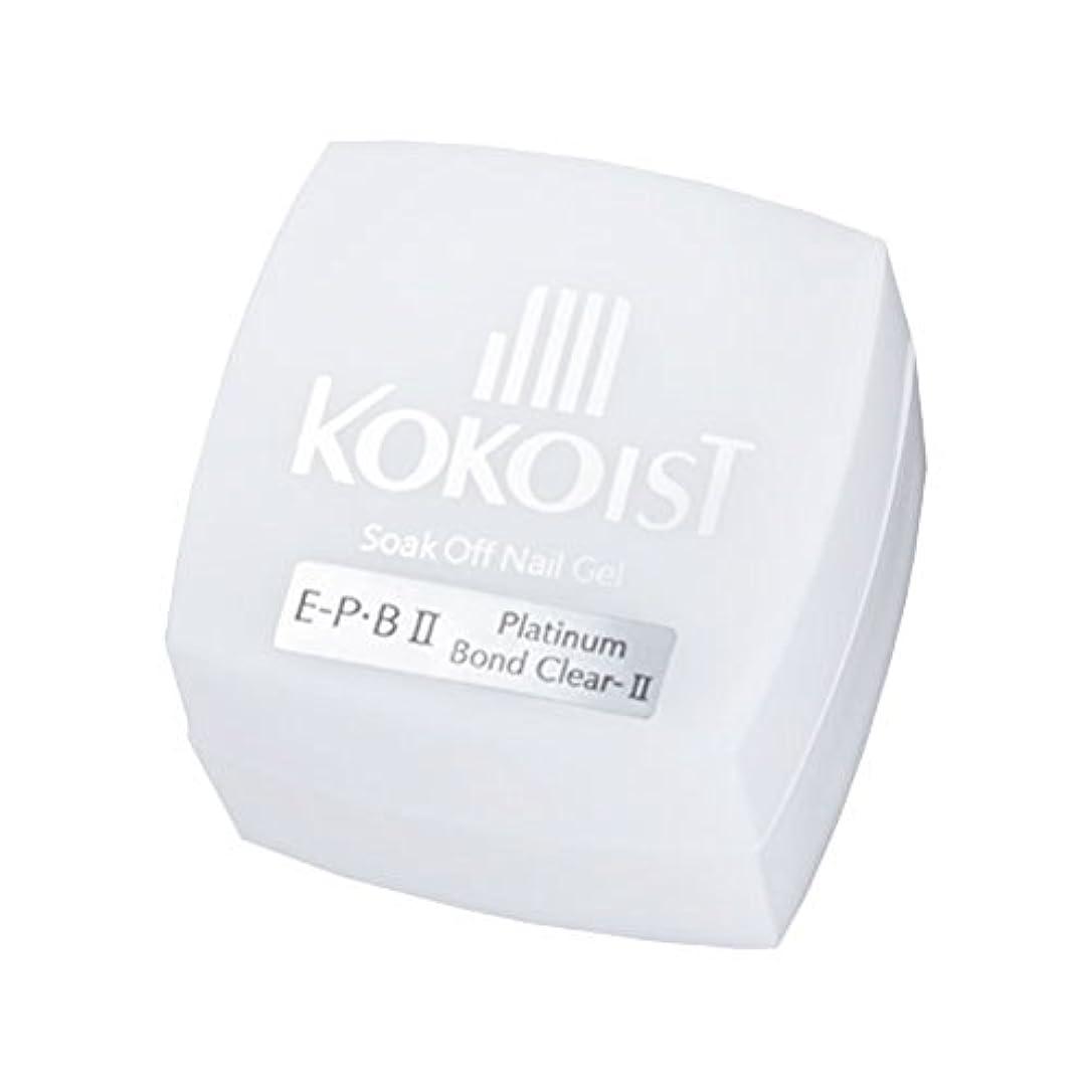不毛海岸比率KOKOIST フ゜ラチナホ゛ント゛II 4g ジェル UV/LED対応