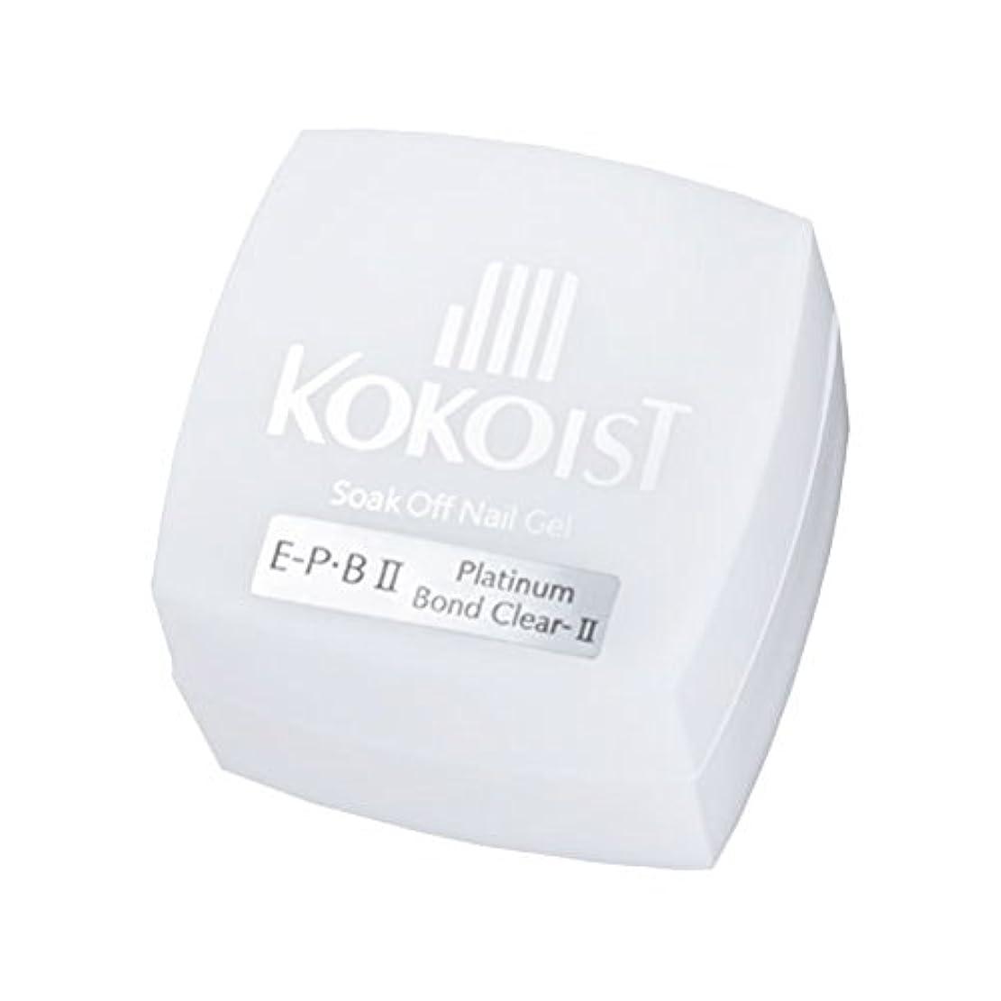 露の前で一過性KOKOIST フ゜ラチナホ゛ント゛II 4g ジェル UV/LED対応