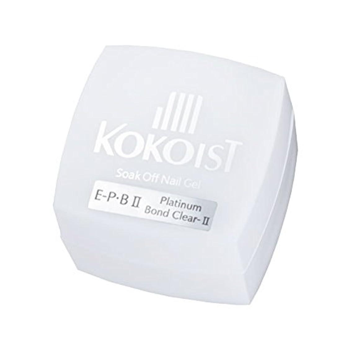火山ダーベビルのテス補体KOKOIST フ゜ラチナホ゛ント゛II 4g ジェル UV/LED対応