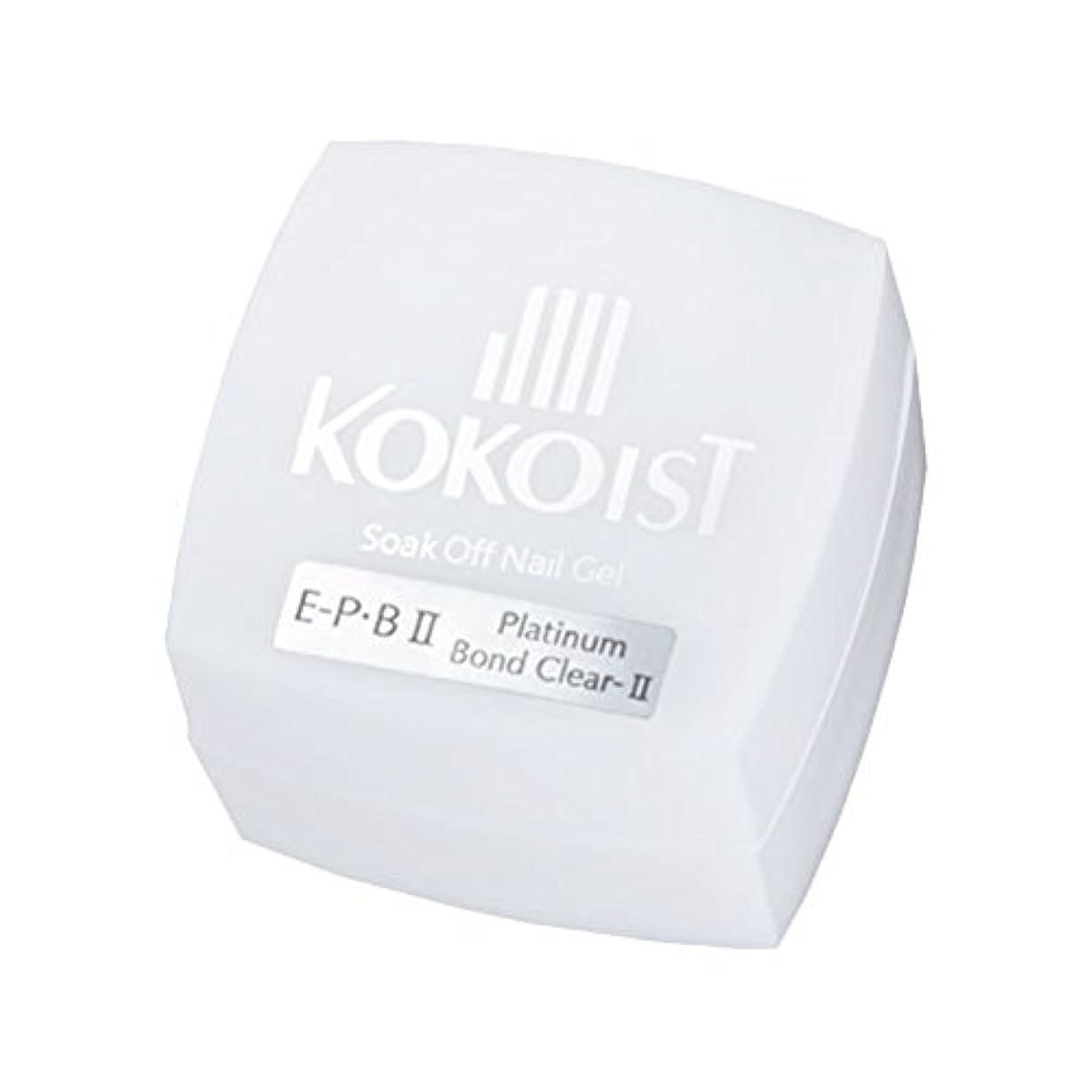 窒素謝罪する電球KOKOIST フ゜ラチナホ゛ント゛II 4g ジェル UV/LED対応