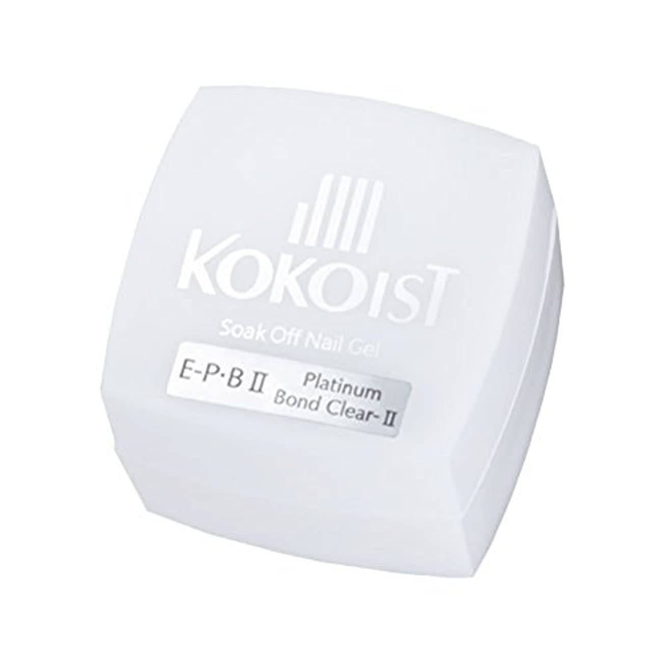 作る耐える海外でKOKOIST フ゜ラチナホ゛ント゛II 4g ジェル UV/LED対応
