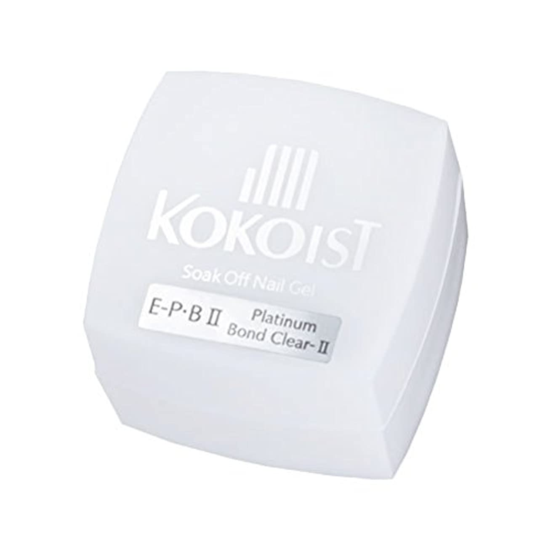 鳩領収書弱まるKOKOIST フ゜ラチナホ゛ント゛II 4g ジェル UV/LED対応