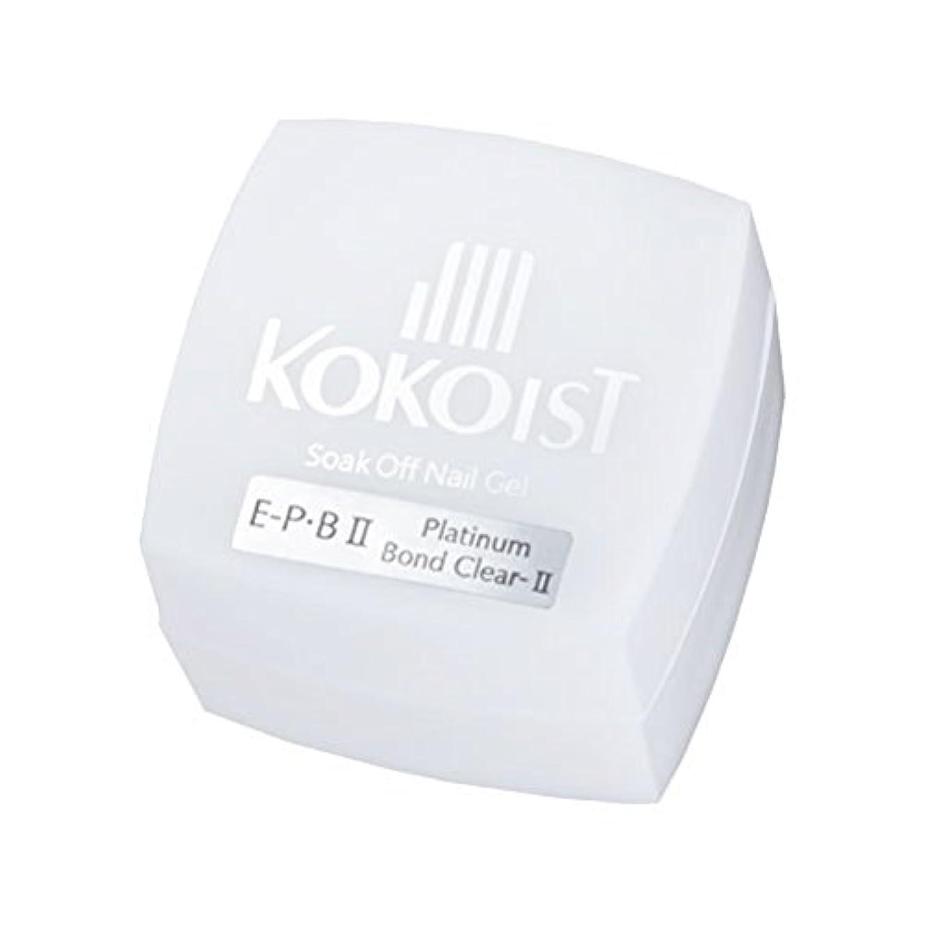 小間雰囲気後継KOKOIST フ゜ラチナホ゛ント゛II 4g ジェル UV/LED対応