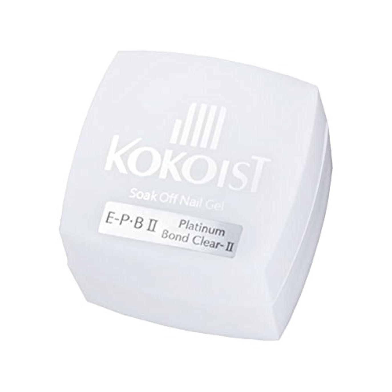手つかずの隔離するばかKOKOIST フ゜ラチナホ゛ント゛II 4g ジェル UV/LED対応