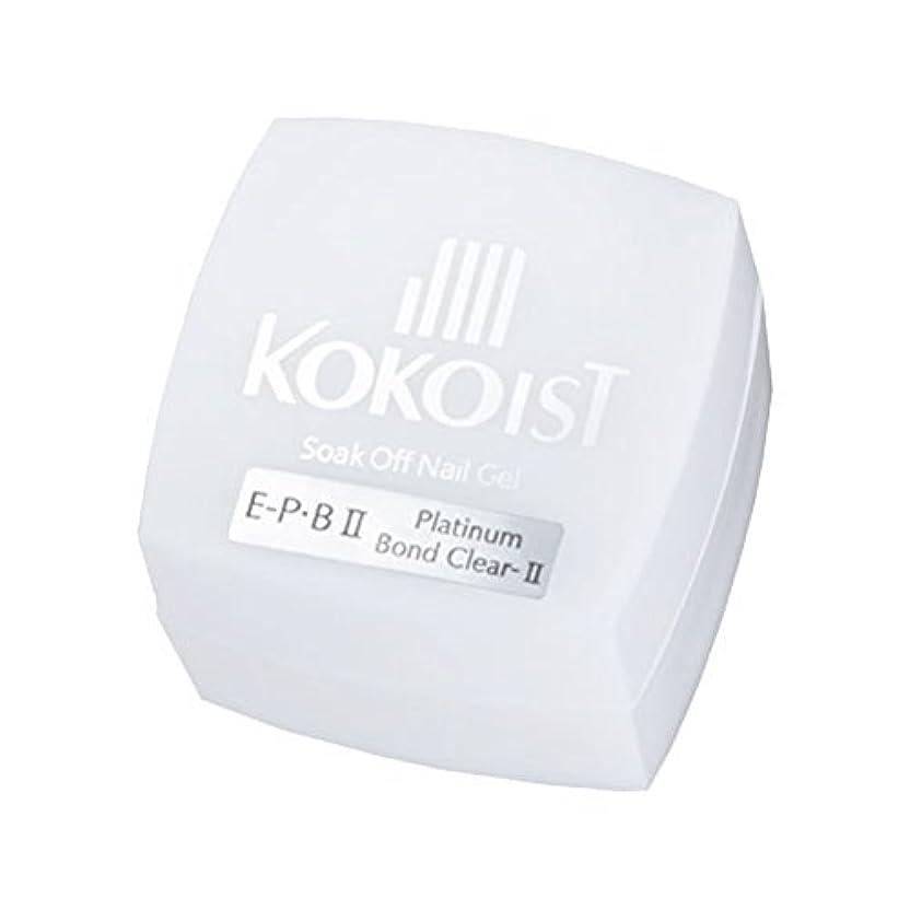 ショートカットデクリメント主にKOKOIST フ゜ラチナホ゛ント゛II 4g ジェル UV/LED対応