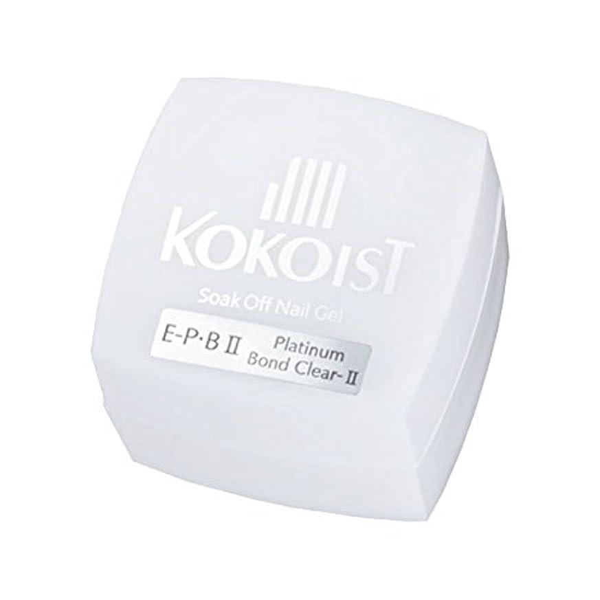高い汚染する舞い上がるKOKOIST フ゜ラチナホ゛ント゛II 4g ジェル UV/LED対応