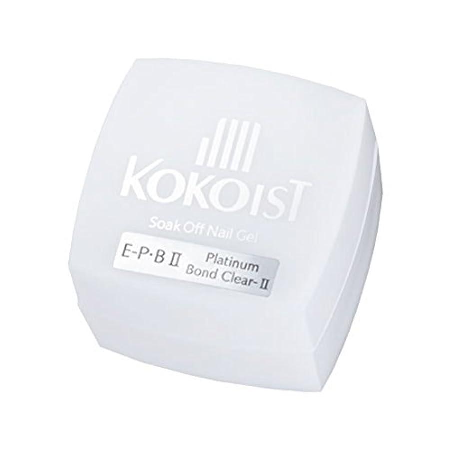 ボート失礼信じられないKOKOIST フ゜ラチナホ゛ント゛II 4g ジェル UV/LED対応