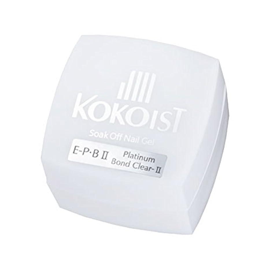 ばか寄託吸収するKOKOIST フ゜ラチナホ゛ント゛II 4g ジェル UV/LED対応