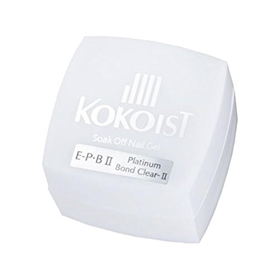 爵現れるむき出しKOKOIST フ゜ラチナホ゛ント゛II 4g ジェル UV/LED対応