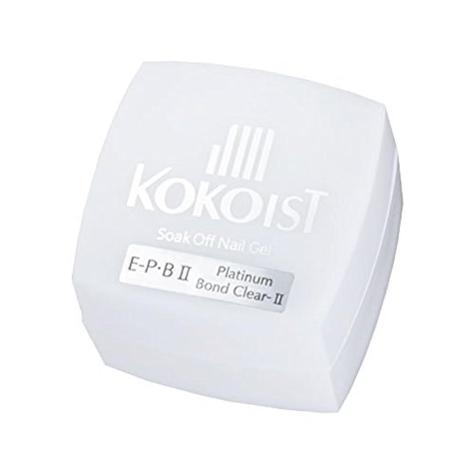 ジョージバーナード理由望みKOKOIST フ゜ラチナホ゛ント゛II 4g ジェル UV/LED対応