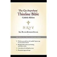 NRSV Go-Anywhere Thinline Bible Catholic Edition (Bonded Leather Black)【洋書】 [並行輸入品]