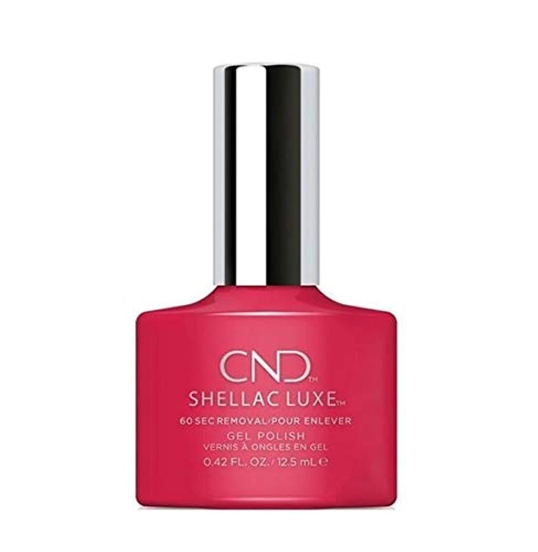 液体疑問を超えて閉じるCND Shellac Luxe - Femme Fatale - 12.5 ml / 0.42 oz