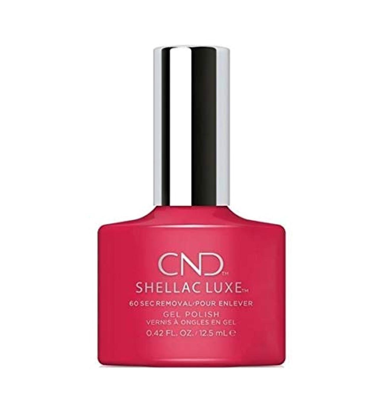 リップ申し込む切り下げCND Shellac Luxe - Femme Fatale - 12.5 ml / 0.42 oz