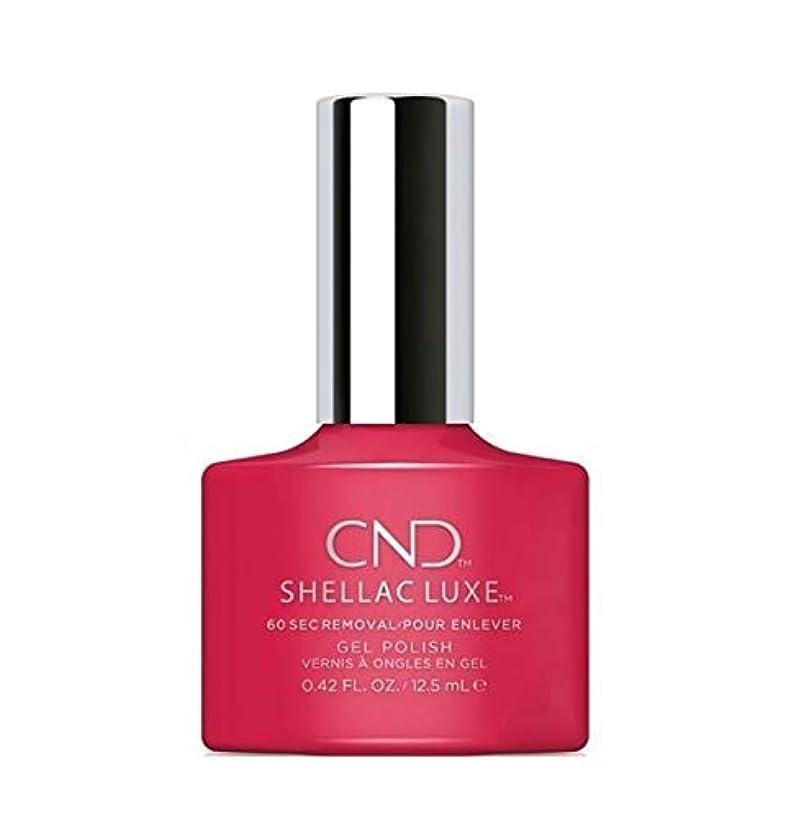 驚いたことにサロン気分が悪いCND Shellac Luxe - Femme Fatale - 12.5 ml / 0.42 oz