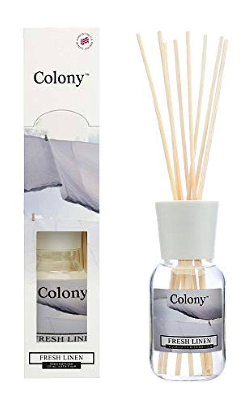 ナイロン収益百Colony HomeScents Series リードディフューザー 120ml フレッシュリネン CNCH2203