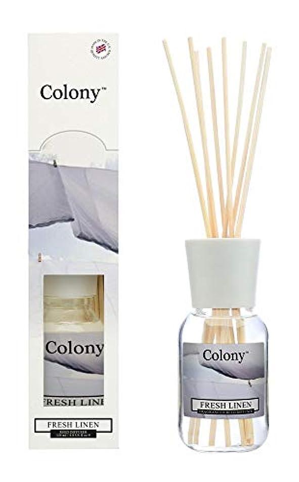 群集あたり群集Colony HomeScents Series リードディフューザー 120ml フレッシュリネン CNCH2203