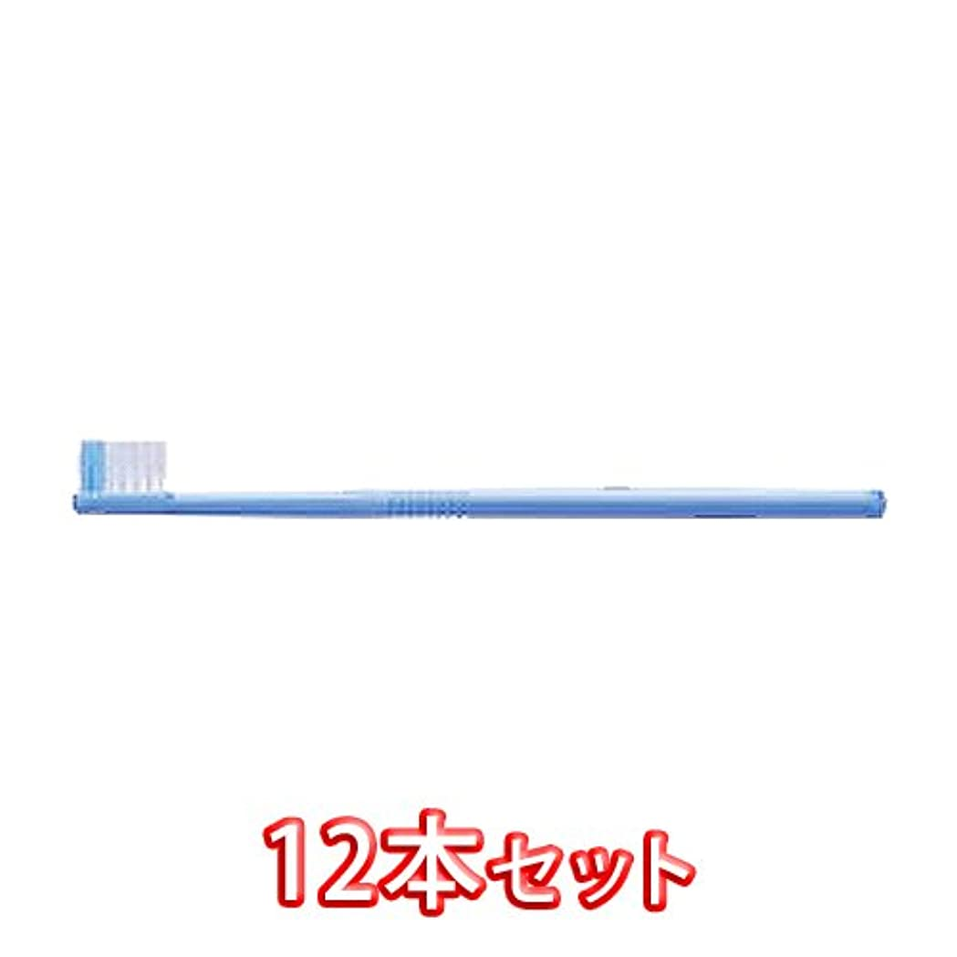 白い疲れたスプレーライオン オルソドンティック 歯ブラシ DENT.EX Orthodontic-U 12本入