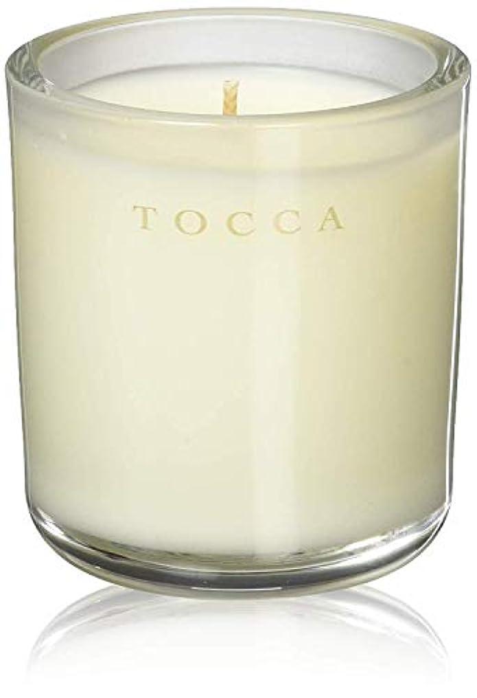 剪断主要なハーブTOCCA(トッカ) ボヤージュ キャンデリーナ バレンシア 85g (ろうそく 芳香 オレンジとベルガモットのフレッシュシトラスな香り)