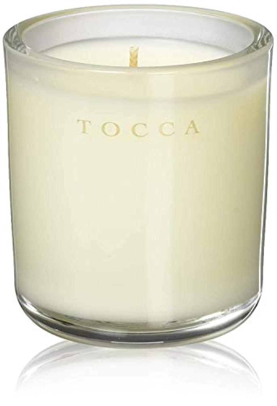 熟したショッキング重くするTOCCA(トッカ) ボヤージュ キャンデリーナ バレンシア 85g (ろうそく 芳香 オレンジとベルガモットのフレッシュシトラスな香り)