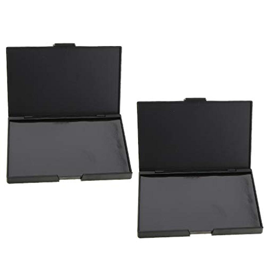 穴ターミナル進化するB Blesiya 2個 磁気パレット メイクアップケース コスメ 化粧品 DIY 手作り