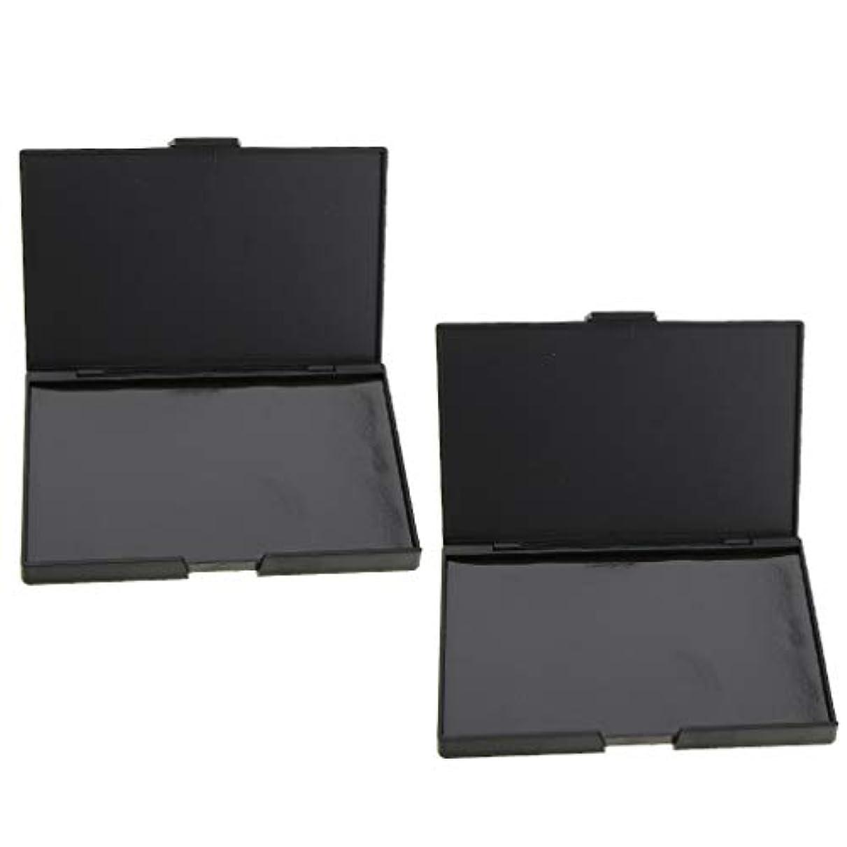 いくつかの説得力のあるツイン2個 磁気パレット メイクアップケース コスメ 化粧品 DIY 手作り