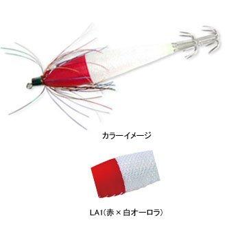 デュエル(DUEL) 浮スッテTSカン布巻 TM2 4.0号 LA1 L赤×白オーロラ A1465