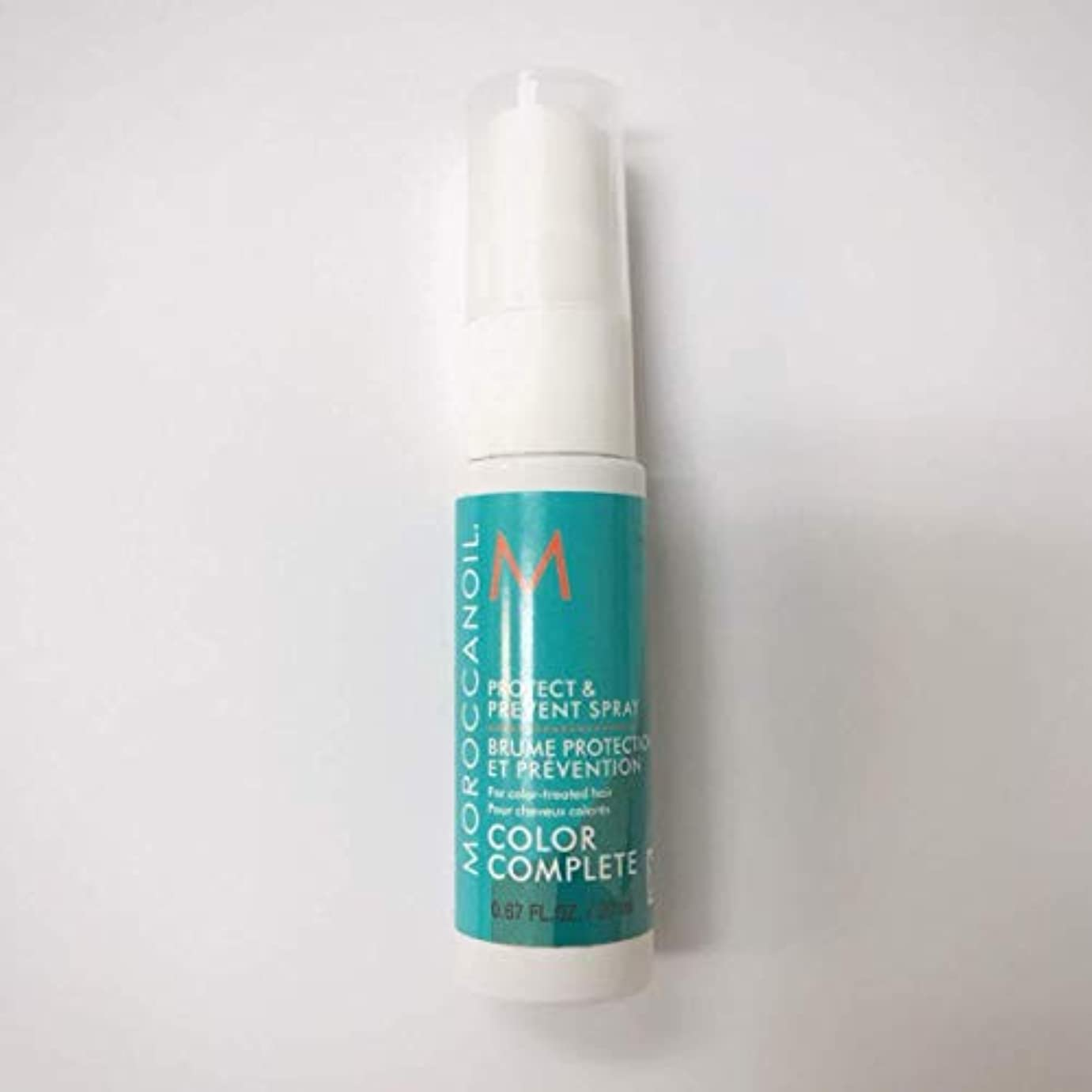 圧縮暗殺する運河Moroccanoil Protect & Prevent Color Complete Spray Travel Size 20ml [並行輸入品]