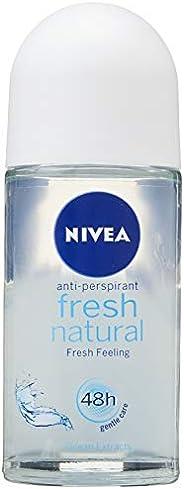 NIVEA Deo Roll-On Fresh Natural, 50 ml