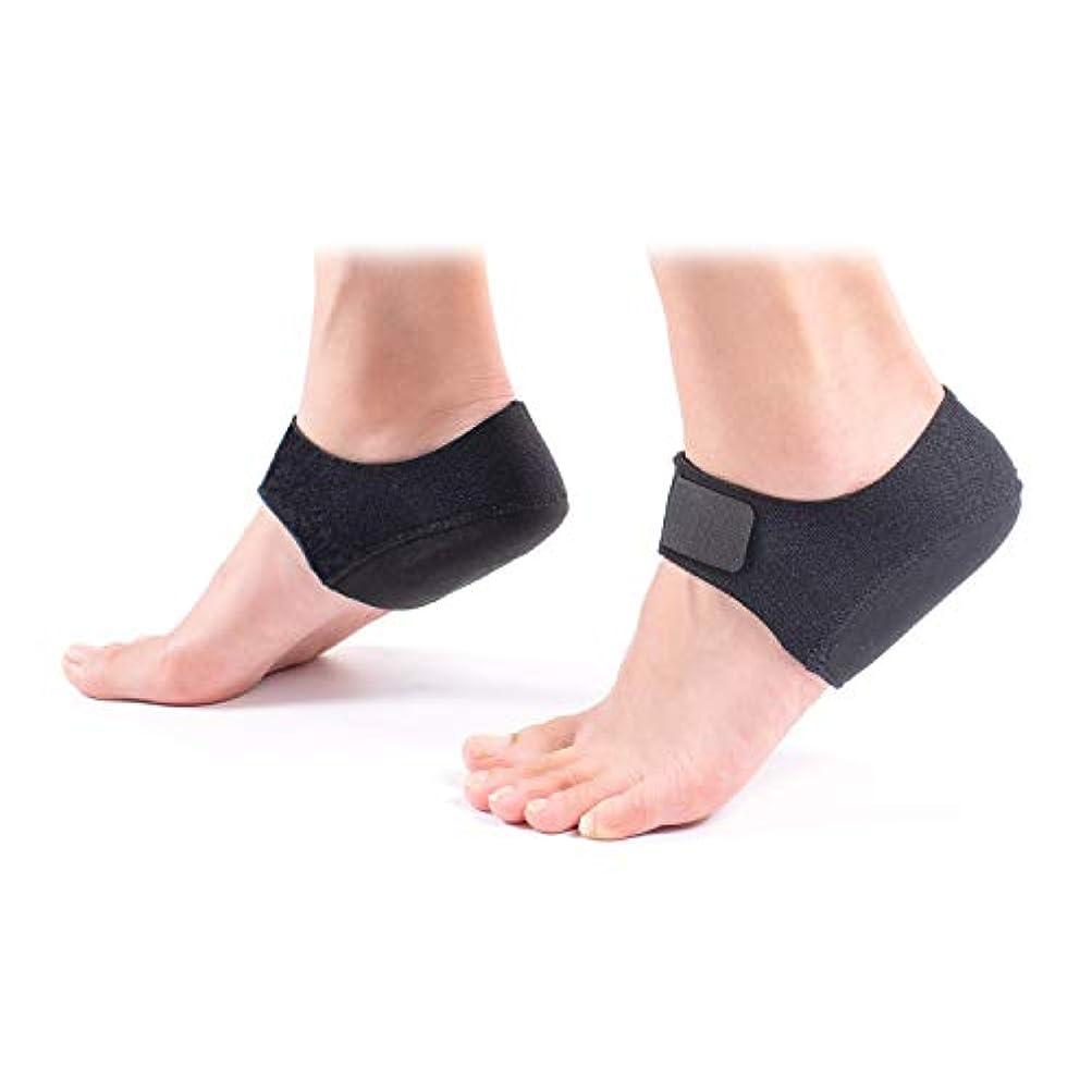 材料本部パシフィック足首保護 足用 シリコンパッド付け テーピング サポーター かかとサポーター 足首 軽いサポート 足首用 固定 足底筋膜炎 スポーツ