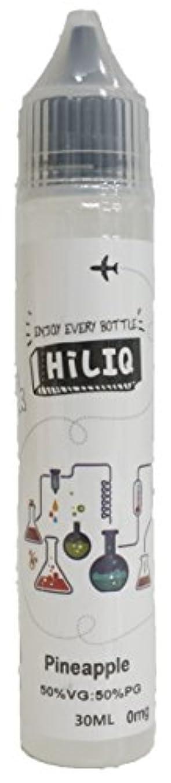 結び目火薬患者電子タバコ リキッド HiLIQ(ハイリク) 30ml パイナップル風味