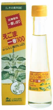 創健社 えごま一番100(しそ科油) 110g