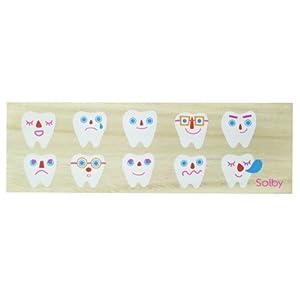 ソルビー(Solby) 乳歯ケース たまて歯庫 (日付/名前記入用アクリル板付) 桐箱製 防虫効果 NZSB102001